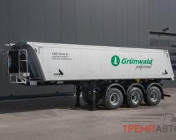 Самосвальный полуприцеп GRUNWALD 27 м3 (алюминиевый кузов)