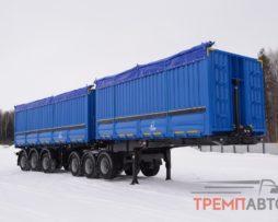 Сочленённый автопоезд-зерновоз Тонар 72 м3