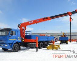 КАМАЗ 65117 с КМУ KANGLIM KS2056SM