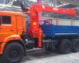 КАМАЗ 43118 с КМУ KANGLIM KS1256G-II TOP