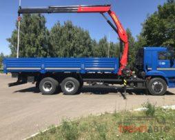 КАМАЗ 65117-3010-48 6х4 с КМУ INMAN IM150N
