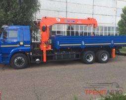 КАМАЗ 65117 с КМУ KANGLIM KS1256G-II TOP