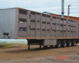 Скотовоз полуприцеп ТОНАР (для перевозки свиней в 3 яруса)