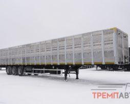 Скотовоз полуприцеп ТОНАР (для перевозки КРС и свиней)