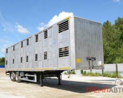 Скотовоз полуприцеп ТОНАР (для перевозки свиней в 2 яруса)