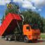 Камаз 65115 Самосвал Ломовоз с КМУ VM10L74M